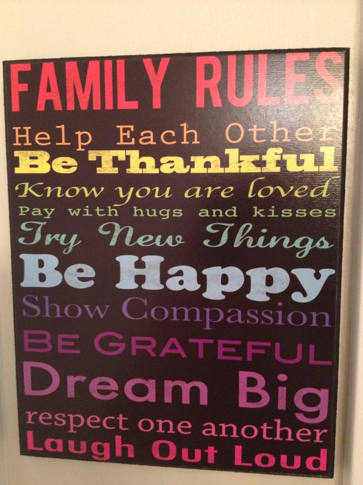 Rules For A Girls Bedroom: Ideas For Creating Family Rules